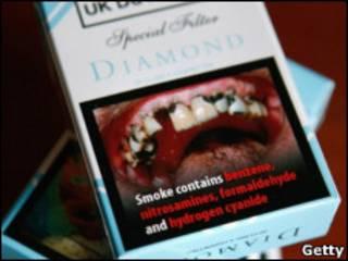 Реклама на цигарках