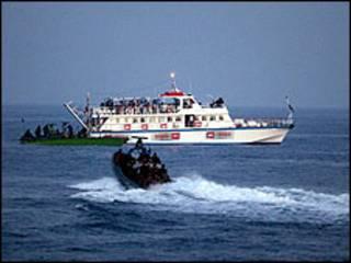 غزہ امدادی جہاز