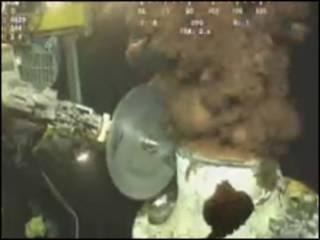 Imagem de vídeo submarino da BP