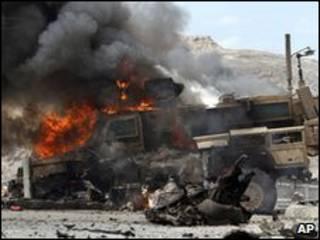 افغانستان دھماکہ فائل فوٹو