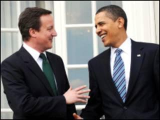 Shugaba Obama zai gana da David Cameron na Birtaniya