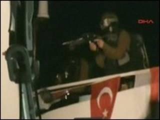 حمله در کشتی حامل کمک به غزه
