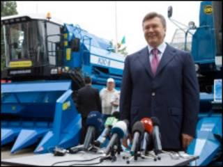 """Брифінг Віктора Януковича на виставці """"Агро-2010"""""""