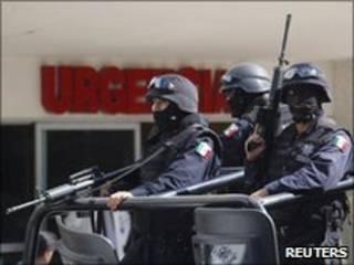 मैक्सिको में सुरक्षा बल