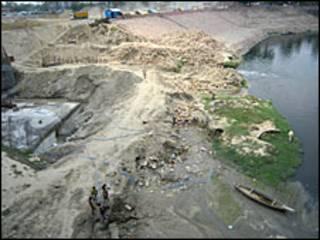 डूब क्षेत्र गोमती नदी