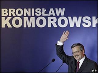 Komorowski, candidato liberal en Polonia.