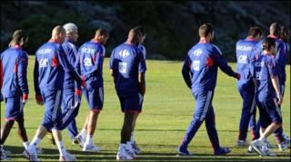 फ़्रांस की टीम