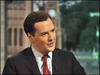Ministro de finanzas británico George Osborne