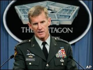 Генерал Маккристал визнав, що його інтерв'ю є помилкою