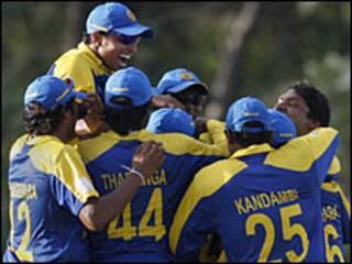 श्रीलंकाई टीम