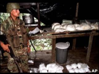 Колумбийский солдат