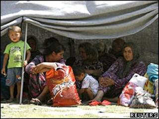Refugiados kirguisos en Afganistán