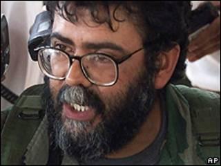 Alfonso Cano, líder de las FARC