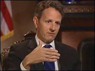 Sakataren baitulmalin Amurka Timothy Geithner