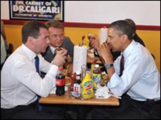 Обама і Медвєдєв
