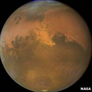 Marte. Foto cortesía de la NASA.