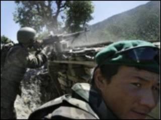 जलालाबाद में नैटो सैनिक (फ़ाइल फ़ोटो
