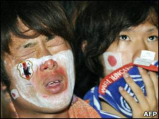 Японские болельщики