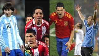 Argentina, Paraguay, España y Uruguay: el Mundial hispanoparlante