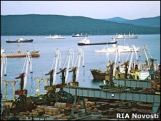 Бухта Владивостока