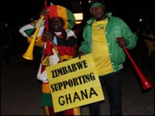 加纳支持者