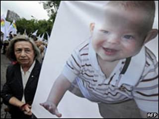 Manifestação contra aborto na Espanha