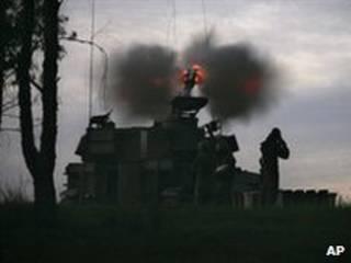 Ofensiva na Faixa de Gaza (arquivo)
