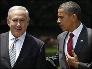 Obama da Netanyahu