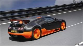 Машина Veyron