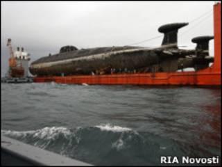 """Подлодки """"671 РТМ"""" доставляют  для утилизации на завод """"Звезда"""""""