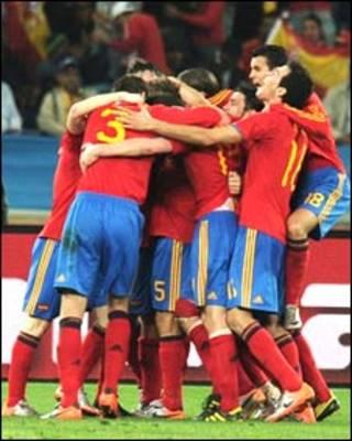 Kyautar Laureus: Spain ce ta daya a 2010