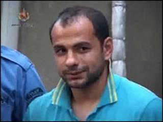 Задержанный Георгий Деметрадзе. Кадр видеозаписи с сайта МВД Грузии
