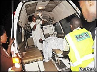 Пострадавшие от взрыва в Уганде