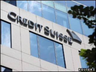 Agência do banco Credit Suisse em Frankfurt, Alemanha (Reuters, 14 de julho)