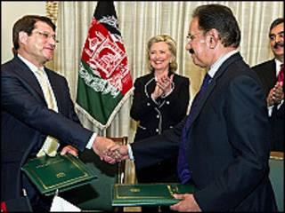 افغانستان و پاکستان سودا وزیرلری