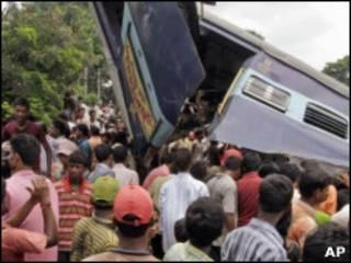تصادف قطار در هند