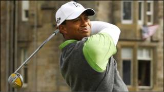 गोल्फ खिलाड़ी टाईगर वूड्स