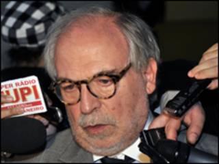 O assessor especial da Presidência, Marco Aurélio Garcia (Abr/30 de junho)