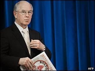 O porta-voz do Departamento de Estado americano, Philip Crowley (foto: AFP)