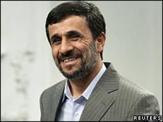 Mahmoud Ahmadinejad (arquivo)