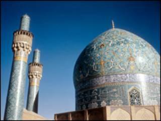 تصویری از مسجد اصفهان