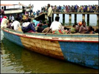 Jirgin ruwa a Jamhuriyar Demokradiyyar Congo