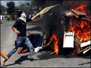 कश्मीर में हिंसा