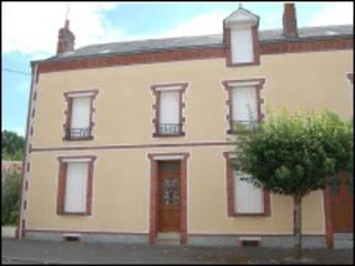 Casa onde François Deweille ficou trancado