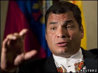 Rafal Correa, presidente de Ecuador. Imagen de archivo