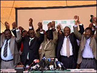 Golaha Wasiirrada Kenya oo u dabaaldagaya natiijada aftida dastuurka cusub