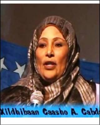 Somali MP, Asha Abdalla