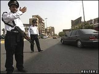 Дорожная полиция Ирака