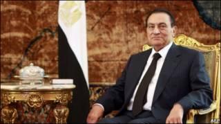 حسنی مبارک، رئیس جمهور سابق مصر