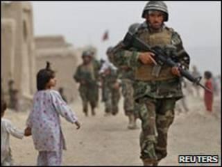 Binh sĩ Afghanistan